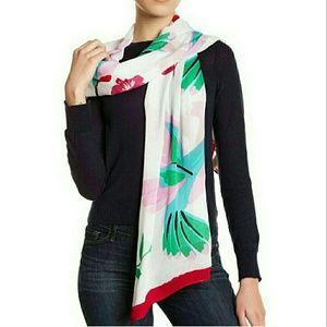 Kate spade Hummingbird bird scarf